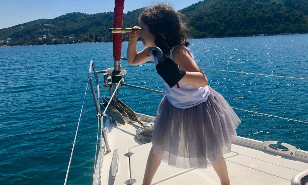 Fierce pirate kiddo